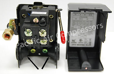 Furnas 140-1074-01 Emglojenny Pbvl Pressure Switch W Disconnect Lever