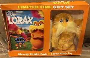 The Lorax Limited Edition Gift Set DVD & Plush