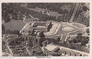 Postcard-Buckingham-Palace-aerial-view-Central-London-RP-Royalty