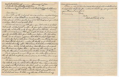 Robert Stroud - The Birdman of Alcatraz - Autographed 1946 Letter (ALS) 2 Pages