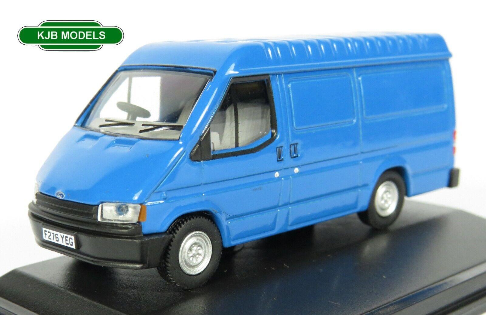 BNIB OO GAUGE OXFORD 1:76 76FT3009 Ford Transit MK3 Gentian Blue Van