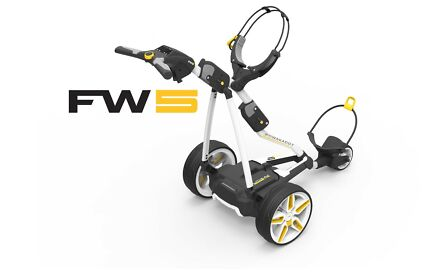 2017 Powakaddy FW5 Electric Golf Buggy with Lithium Battery
