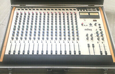 Mitec 1602 Analog Mixer 16 Kanäle im original (?) Flightcase funktioniert ! for sale  Shipping to Nigeria