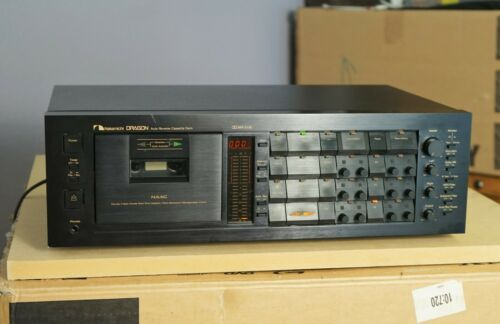 Nakamichi Dragon 3 Head Auto Reverse 3-Head Cassette Deck serviced Great Sound