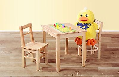 Kindersitzgruppe Kinder Möbel Kindertisch Kindermöbel Set Stuhl Kernbuche massiv
