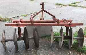 Disc Cultivator for small tractor London Ontario image 1