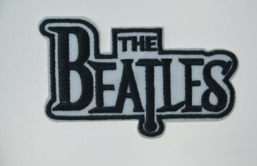 "The BEATLES Embroidered Cloth Patch Badge Iron Sew On Applique 3 1/2x2"" NEW"