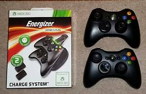 WIRELESS Xbox 360 Controllers + Charge Kit Tuggerah Wyong Area Preview