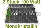Solarmodul 100W