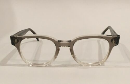 Vintage Tart Optical BRYAN Eyeglasses  Grey Fade  46mm NOS