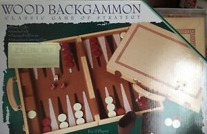 Brand new Wooden Backgammon game
