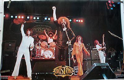 RARE BOSTON LIVE STAGE 1977 VINTAGE ORIGINAL MUSIC POSTER