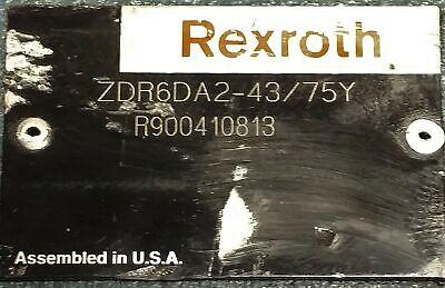 Rexroth ZDR6DA2-43-75Y Relief Valve