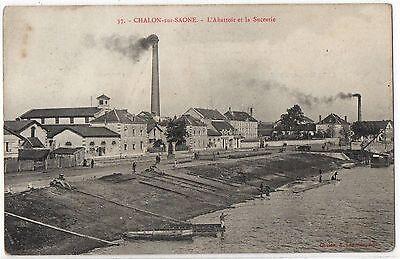 CPA 71 - CHALON SUR SAONE (Saône et Loire) -  37. L'Abattoir et la Sucrerie