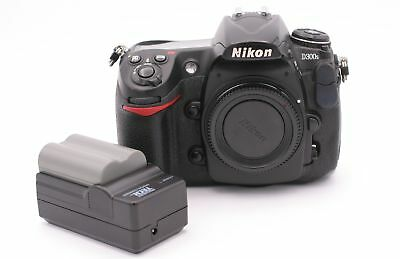 Nikon D300S 12.3MP Digital SLR Camera - Black (Body Only) - Shutter Count:7534
