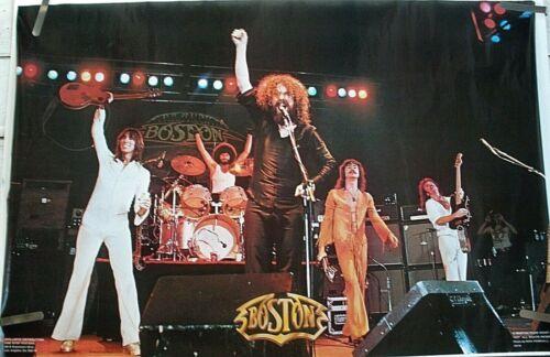 RARE BOSTON LIVE STAGE 1978 VINTAGE ORIGINAL MUSIC POSTER