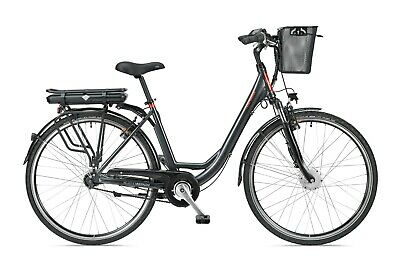 TELEFUNKEN RC657-S City Pedelec anthrazit E-Bike Damen Citybike 36V 13AH