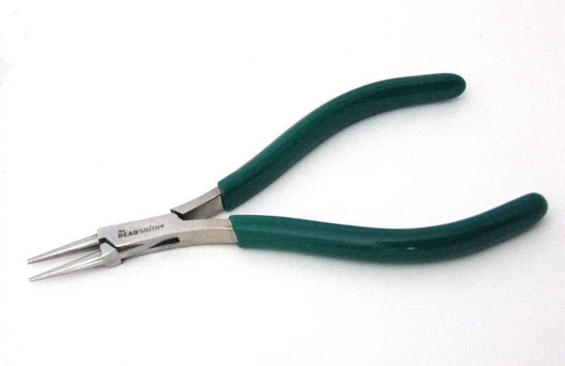 "Micro-Fine Round Nose Pliers By Beadsmith 3/16"" Tips"