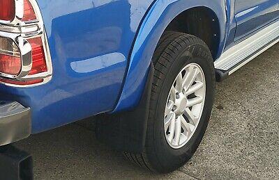 Mudflap Mudflaps Mudguards Front Pair For Toyota Hilux Vigo Mk7 2011-2015 M36