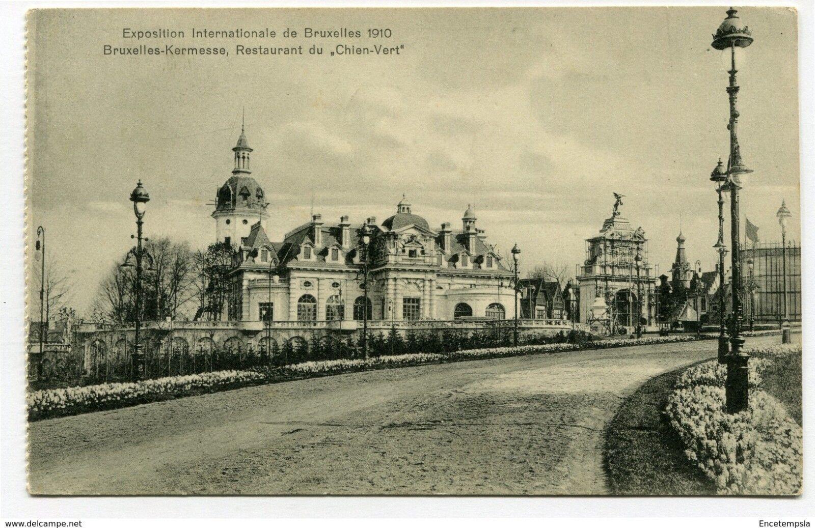 CPA-Carte postale-Belgique-Bruxelles-Exposition Internationale de Bruxelles 1910