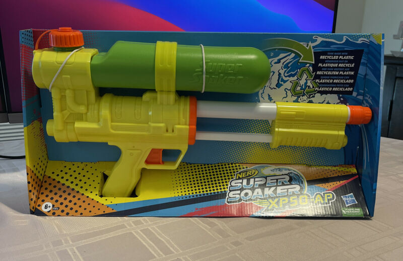 Nerf Super Soaker XP50-AP Water Squirt Gun - Limited Edition 2021 New!