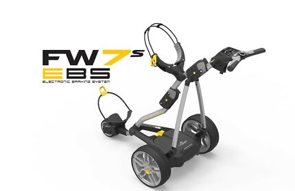 2017 PowaKaddy FW7 Electric Lithium Golf Buggy With EBS