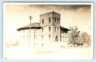 Sunnyside, WA - RARE EARLY 1900s VIEW OF CONGREGATIONAL CHURCH - RPPC - H3