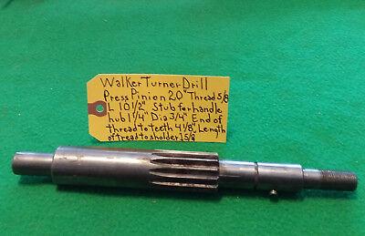 Walker Turner 20 Drill Press Pinion