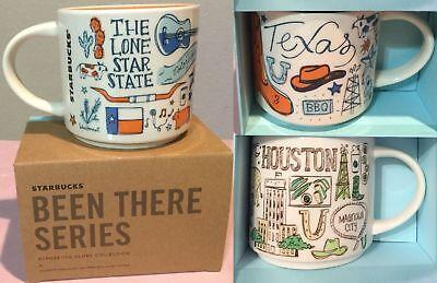 - Texas Houston Souvenir Starbucks Coffee Tea Mug Been There Travel Collection