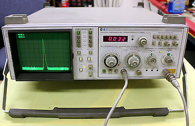 AGILENT HP KEYSIGHT 853+8559 SPECTRUM ANALYZER  21 GHZ