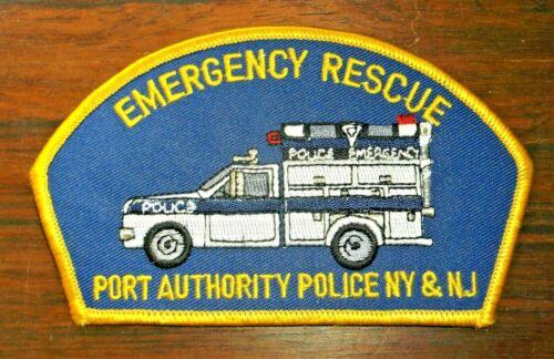 GEMSCO NOS Vintage Patch ESU PORT AUTHORITY EMERGENCY RESCUE NY - NJ