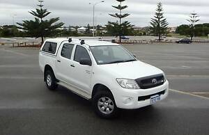 2011 Toyota Hilux Dual Cab 4x4 Auto EXC Con Hillarys Joondalup Area Preview