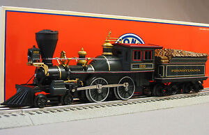 LIONEL PENNSYLVANIA LIMITED 4-4-0 ENGINE & TENDER PRR general o gauge 6-18787