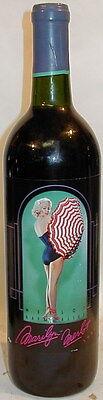 1990 Marilyn Merlot Monroe Napa Valley Red Wine Nova Wines  750 ml Monroe