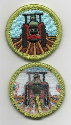 "Farm Mechanics Merit Badge, Type L, ""Since 1910"" Back (2012-Current)"