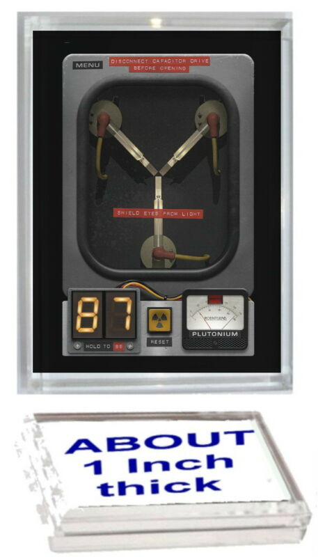 Back To The Future Flux Capacitor Acrylic Executive Display Piece or Paperweight