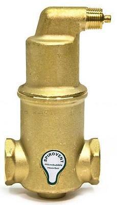 Spirotherm Vjr125tm Spirovent Npt 1.25 Threaded Air Eliminator 1-14 Vjr125-tm