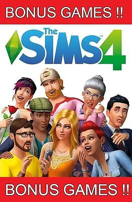 Bonus Games   The Sims 4 Full Game Pc Mac  Origin  Best Price Multilanguage