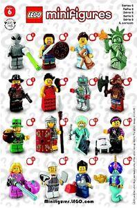 LEGO® 1 Minifigur Bandit Cowboy Sammelfigur Serie 6 NEU Figur 5 8827