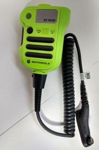 APX XE RSM Remote Speaker Microphone Motorola NNTN8203 GREEN FIRE EMS