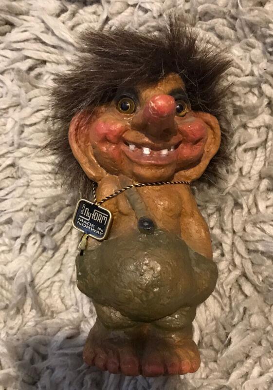 Vintage Troll Boy Original Norwegian Nyform Troll #118