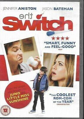 The Switch:Jennifer Aniston,Jason Bateman,Patrick Wilson (DVD, 2011)