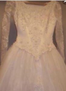 Wedding Gown!  Size small!