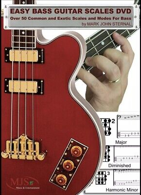 EASY BASS GUITAR SCALES: Over 50 Common and Exotic Scales and Modes   ()