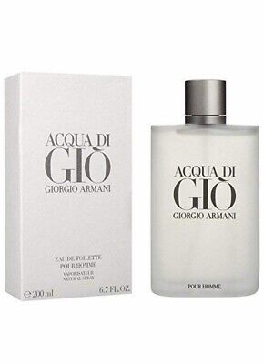 Acqua Di Gio By Georgio Armani 6.7oz,200ml New sealed Box .Free Shipping