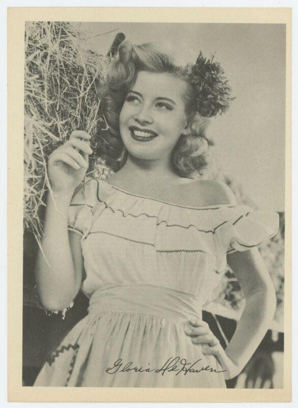 GLORIA DeHAVEN original promotional photo 1945
