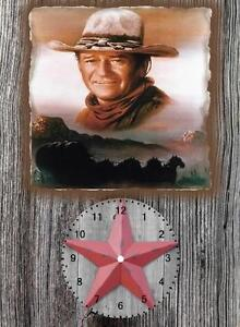 John Wayne Wall Clock  It would make a great  Gift