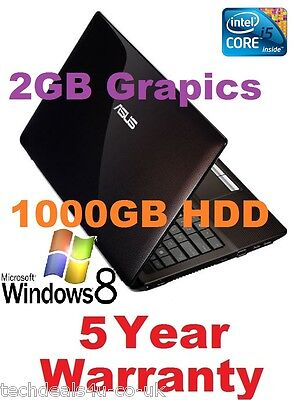 New Asus Gaming Laptop Intel I5 3rd Gen-16gb Ram-1000gb Hdd-2gb Graphics