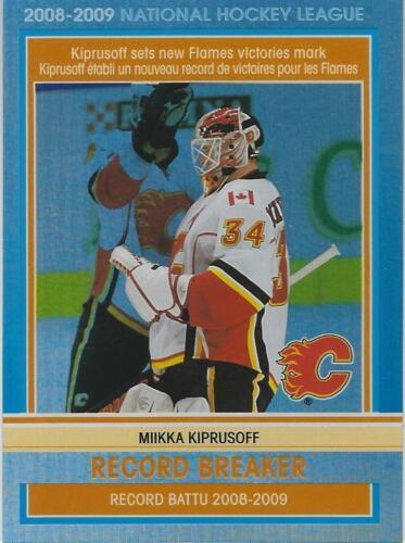Miikka Kiprusoff Hockey Card 2009-10 UD Artifacts #19 Miikka Kiprusoff