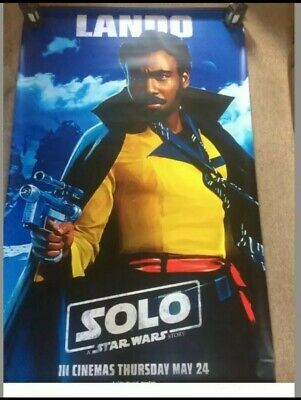 STAR WARS : 5ftx 8ft  THE RISE OF SKYWALKER Original  Cinema Quad Poster.banner